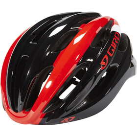 Giro Foray Sykkelhjelmer bright red/black